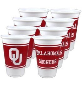 Westrick Oklahoma 16 oz Cups (8 Pack)