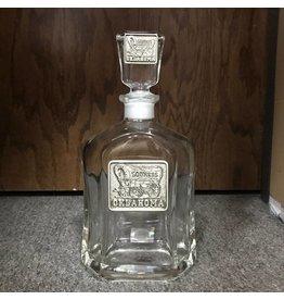Heritage Pewter Schooner Pewter Emblem Whiskey Decanter