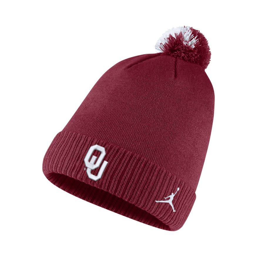 626a5c6903f37 ... purchase jordan brand sideline pom beanie removable pom balfour of  norman 9bcd7 49622