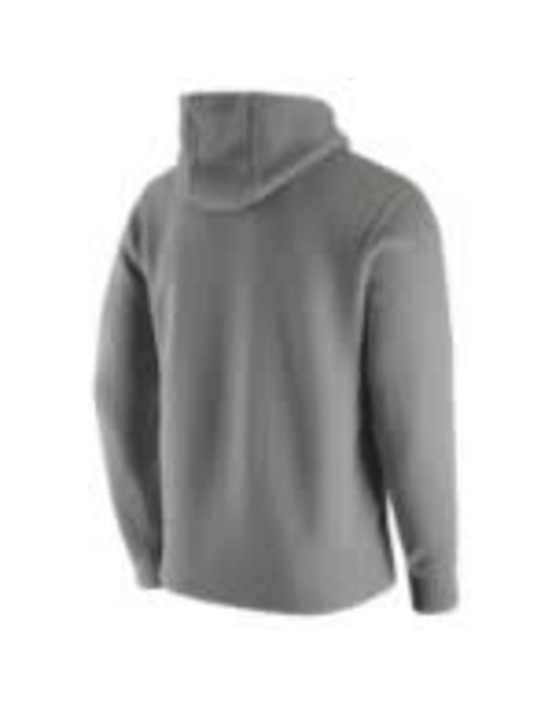 Nike Men's Nike Fleece Pull-Over Hoody Dk. Grey Heather