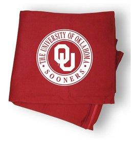 """MV Sport OU Circle Design Sweatshirt Blanket 54""""x84"""""""