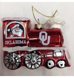 Topperscott OU Train Ornament