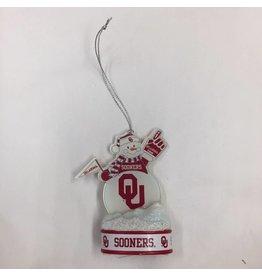 Topperscott OU LED Lit Snowman Ornament