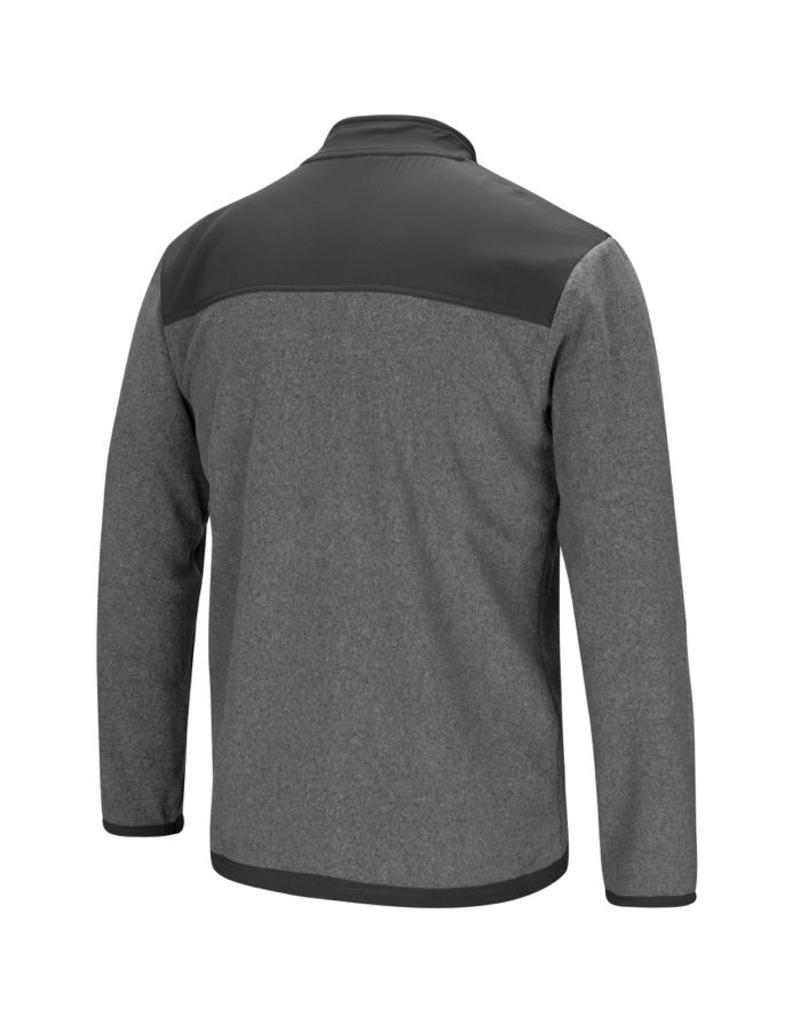 Colosseum Men's Colosseum Grey Fleece Full Zip Jacket