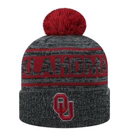 Top of the World TOW Sock It 2 Me Cuffed Knit Two-Tone Beanie