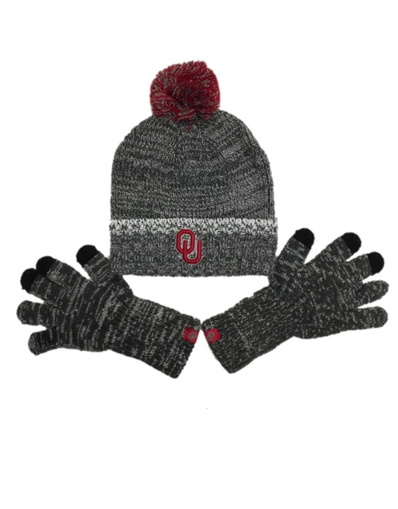 Top of the World TOW Frostbite Knit Beanie w/ Touch Screen Gloves