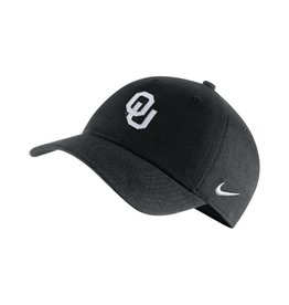 Nike Men's Nike OU H-86 AUTH. 2.0 BLACK ADJUSTABLE CAP