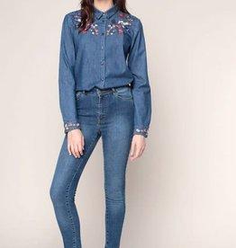 THE KOOPLES The Embroidered Jean Shirt