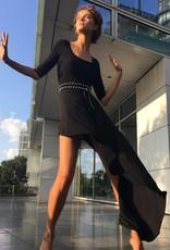 NORMA KAMALI The Diagonal Flared Dress