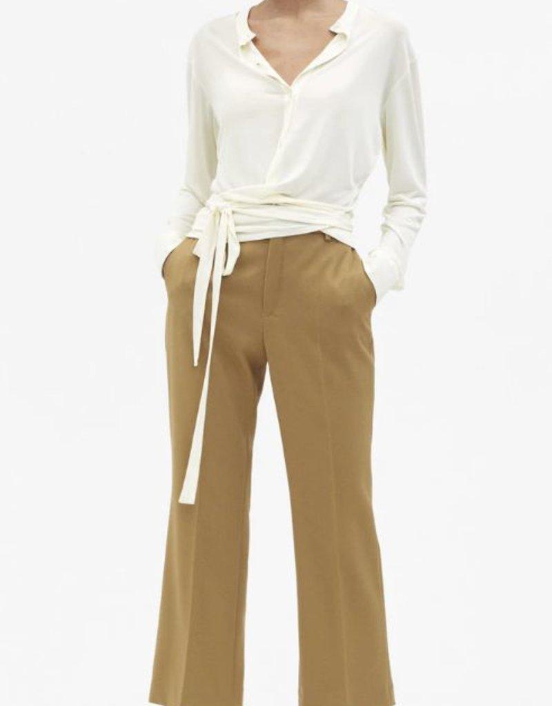 FILIPPA K The Jersey Tie Blouse