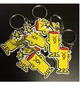 Cracker Guy Key Chain