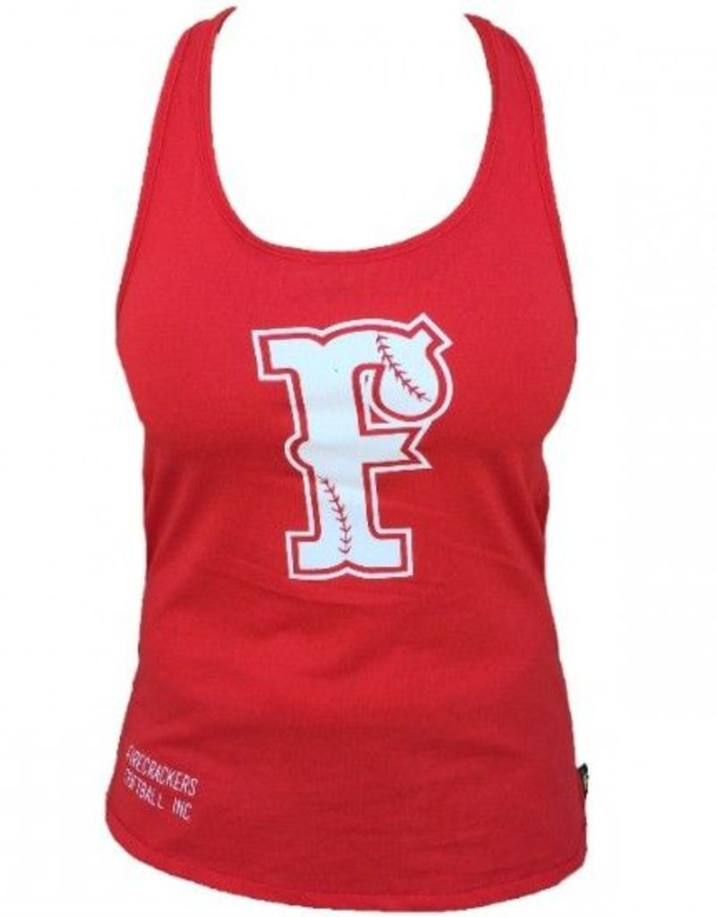 colombia HQ Racerback Tank Top (Red)