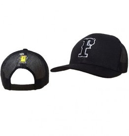 pacific headwear FC Trucker Hat Black (Snap-Back)
