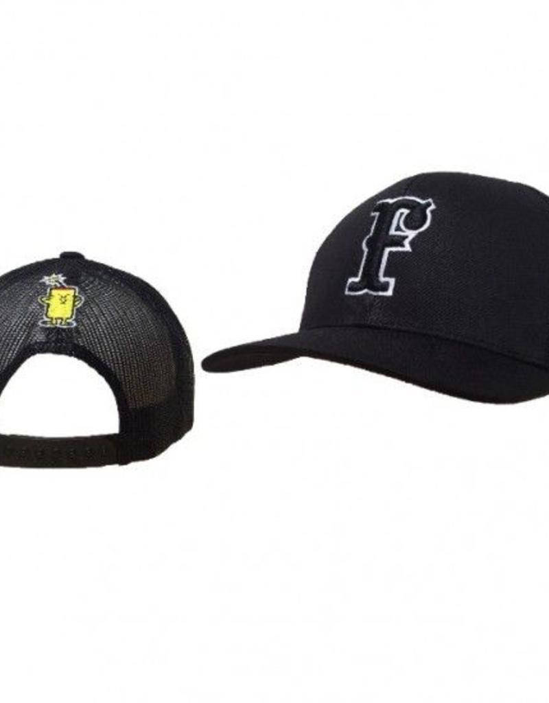 pacific headwear FC Trucker Hat Black (Snap-Back)