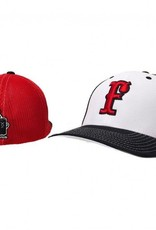 pacific headwear FC Trucker Fitted Hat (White/Red)