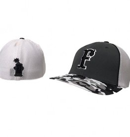 FC Trucker Fitted Hat (Charcoal/Camo)