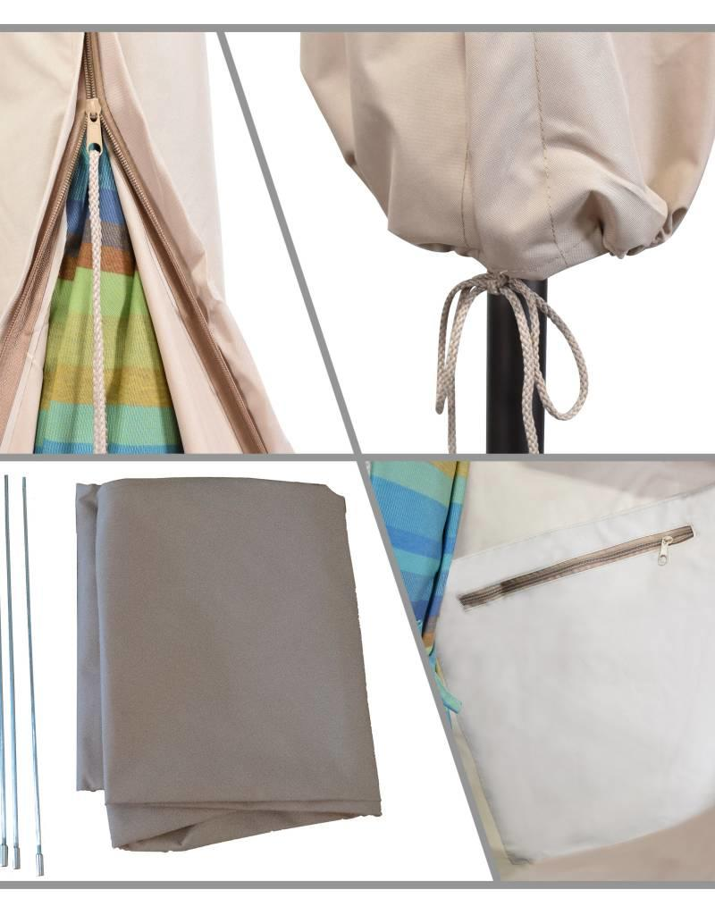 California Umbrella California Umbrella 9' Umbrella Cover With  Beige  Fabric