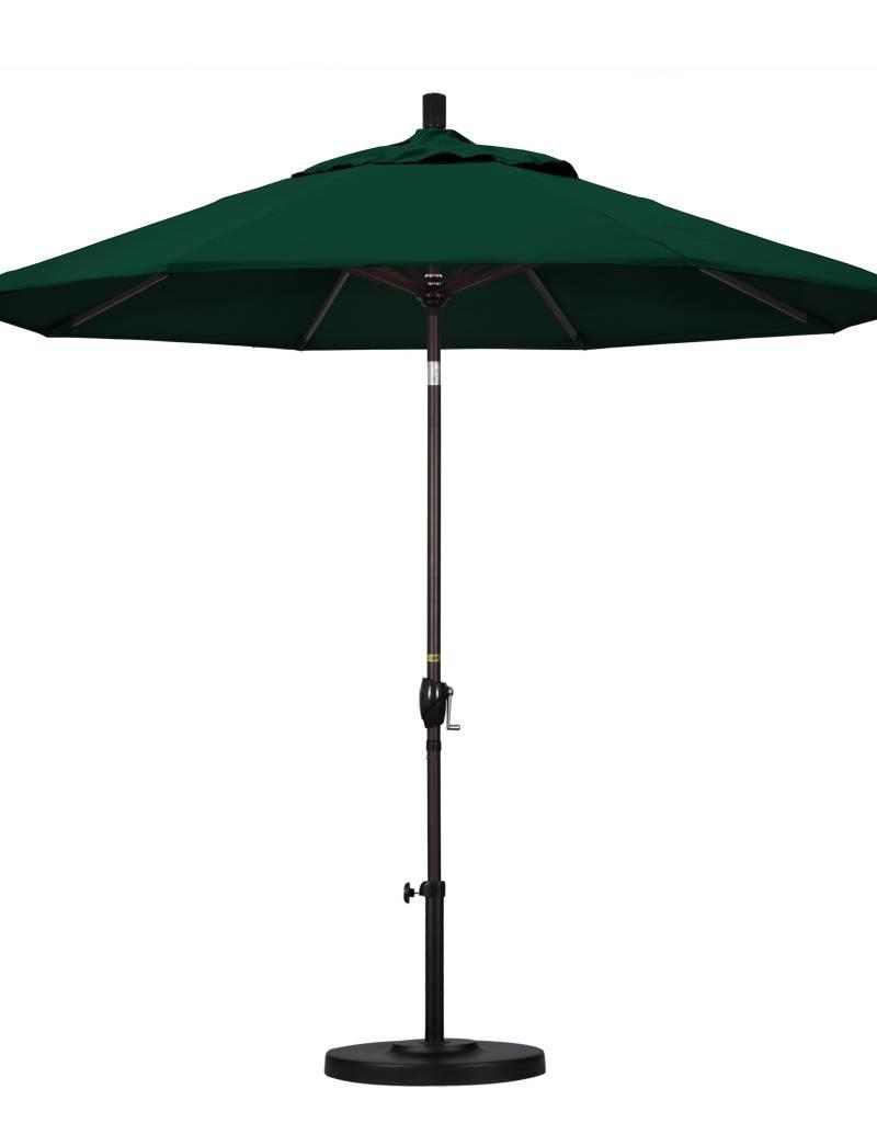 California Umbrella 9 Pacific Trail Series Patio With Bronze Aluminum Pole Ribs Push