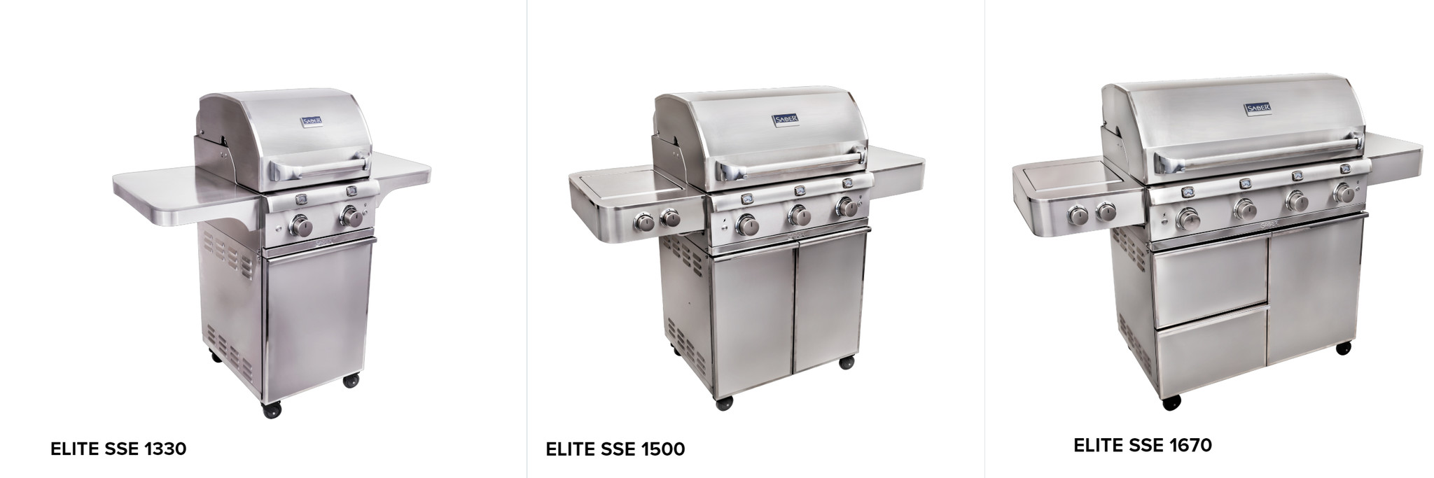 Saber Elite Series Cart Grills