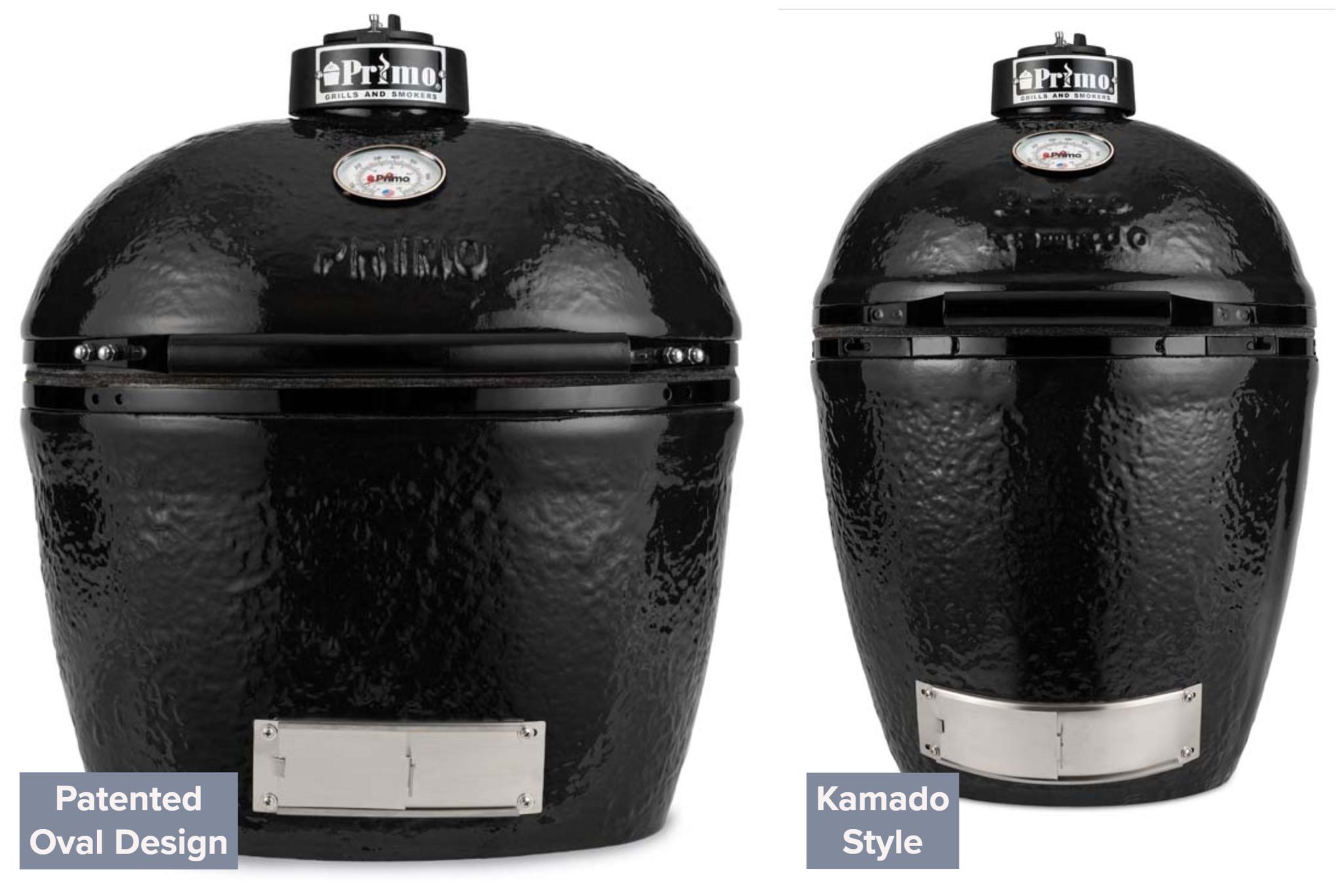 Primo Ceramic Grills XL 400 and Kamado