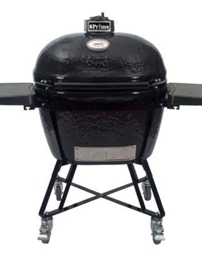 Primo Ceramic Grills Primo Oval XL 400 All-In-One Grill with Heavy Duty Cart
