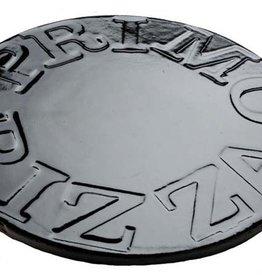 """Primo Ceramic Grills Primo 16"""" Glazed Ceramic Baking Stone for Oval XL 400, LG 300 & Kamado"""