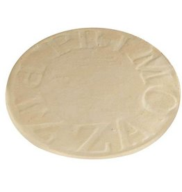 "Primo Primo 16"" Natural Finish Ceramic Baking Stone for Oval XL 400, LG 300 & Kamado"