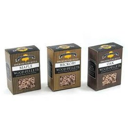 Charcoal Companion Smokehouse-Style Wood Pellets Set - Hickory/Maple/Oak