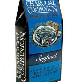 Charcoal Companion Seafood Smoking Wood Chip Blend / 130 cu.in.