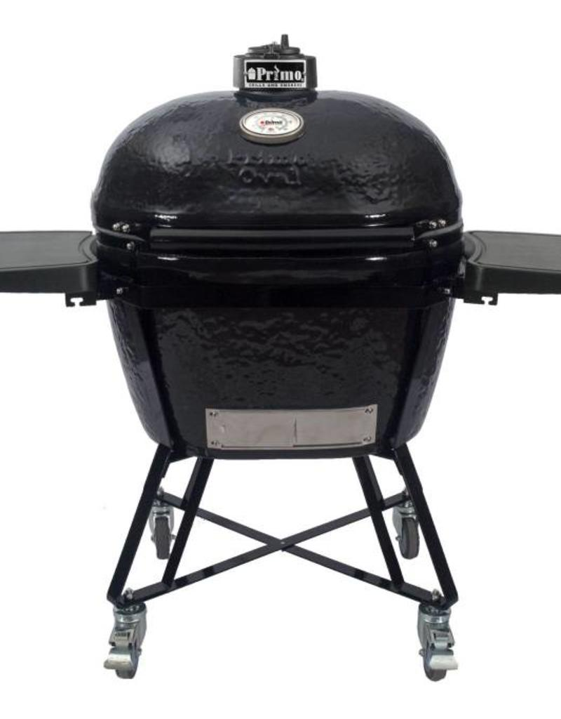 Primo Ceramic Grills Primo Oval LG 300 All-In-One Grill with Heavy Duty Cart