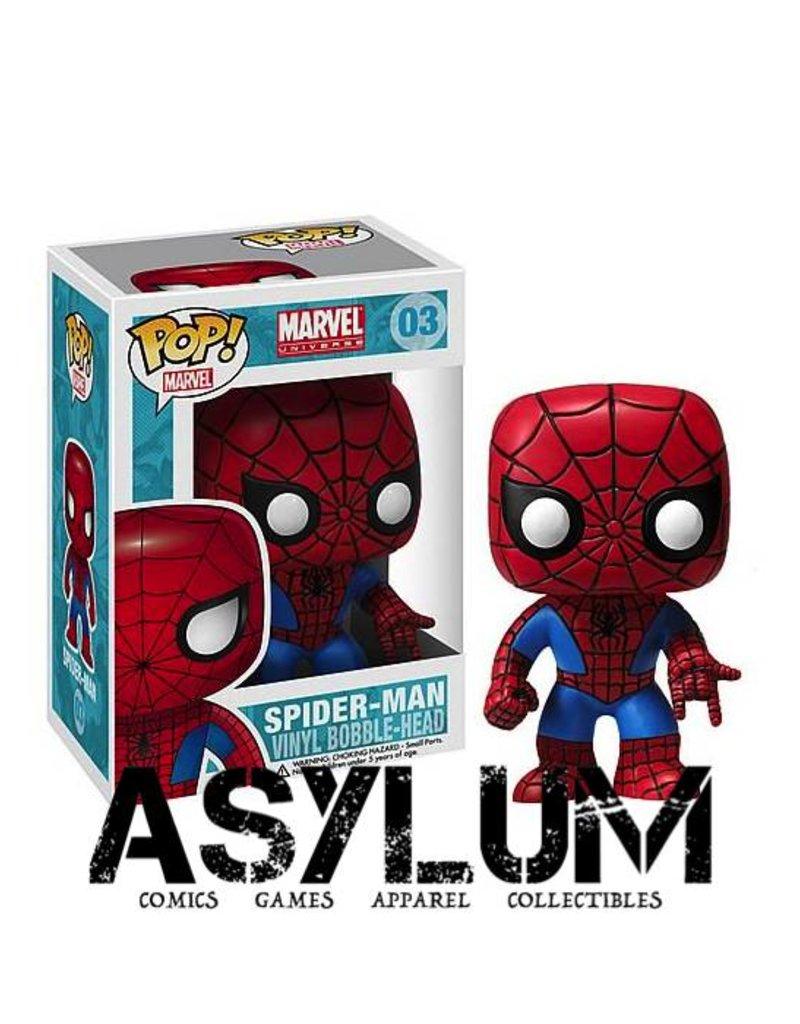 Funko Spider-Man Marvel Pop! Vinyl Bobble Head