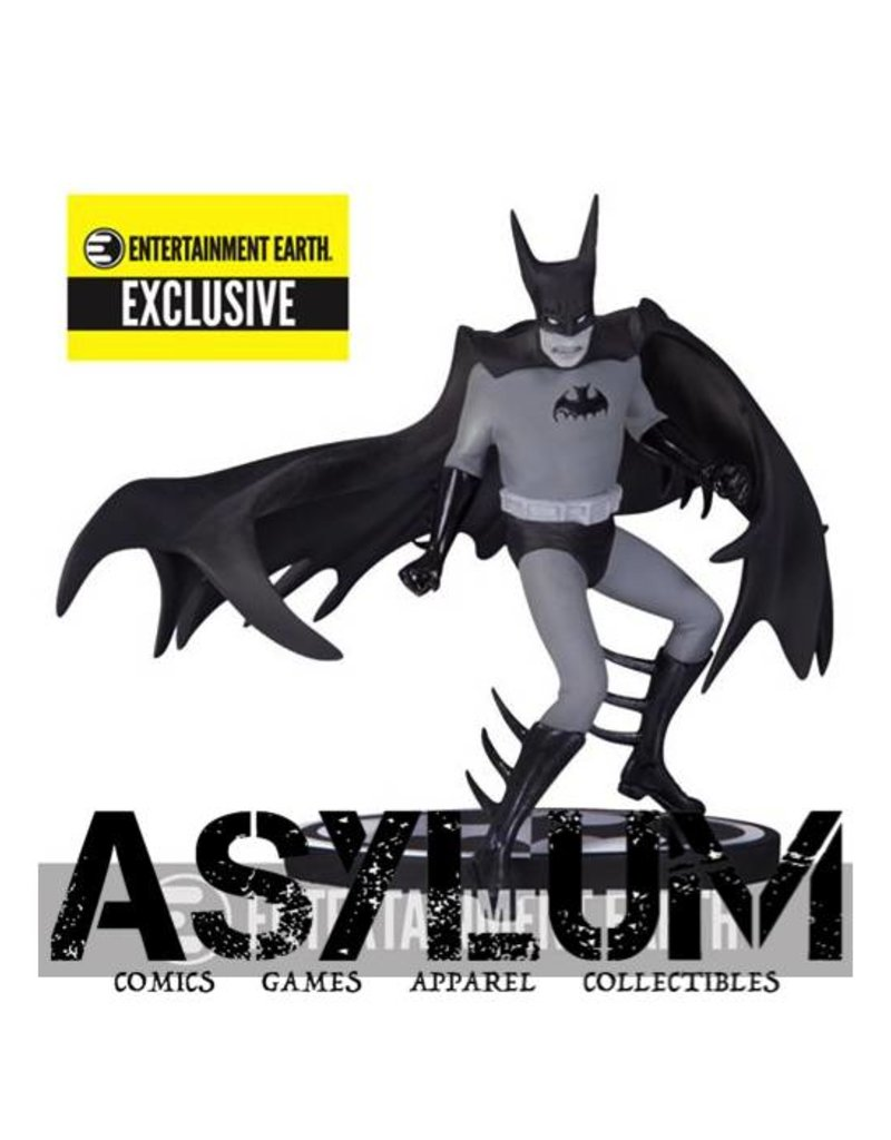 Batman Black and White by Tony Millionaire Statue - Entertainment Earth Exclusive