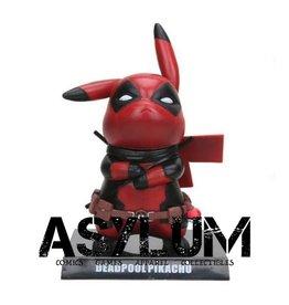 DeadPool Pikachu Cosplay PVC Statue