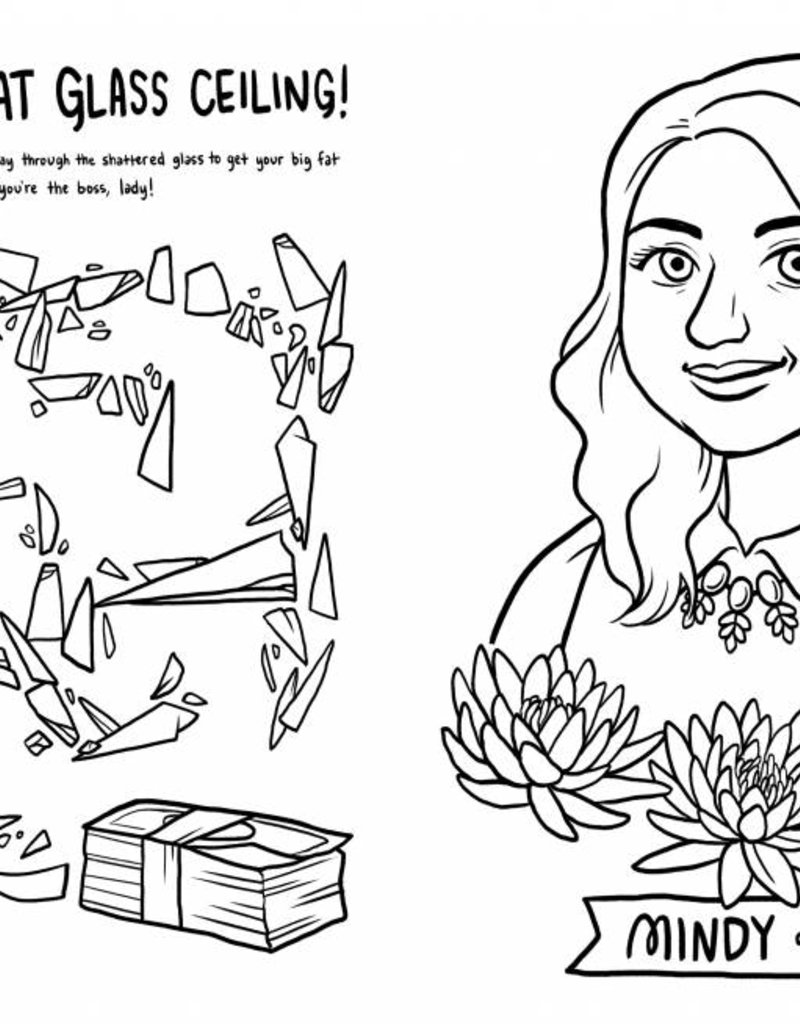 Boss Babes Coloring Book