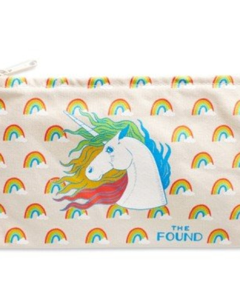 Unicorn and Rainbows Pouch