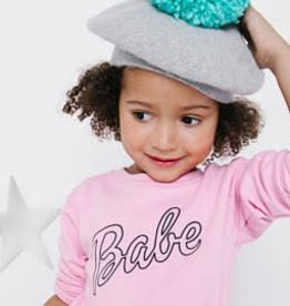 Babe Pink Sweatshirt - Kids Sizes