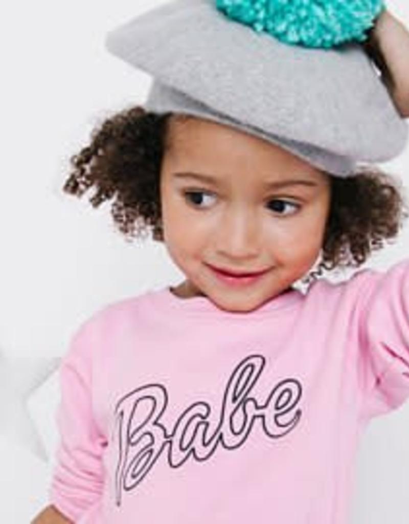 Babe Pink Sweatshirt - Kids Sizes