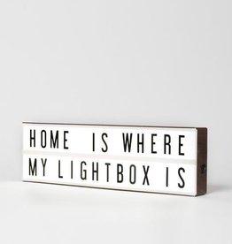 Vintage Lightbox