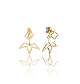 PI PI 14k gold Ear Jacket studs