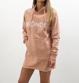 BRUNETTE  the label Hoodie dress, BLONDE