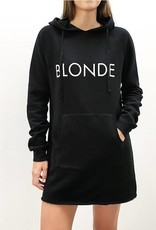BRUNETTE  the label Hoodie dress, BLONDE
