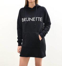 BRUNETTE  the label Hoodie Dress, BRUNETTE