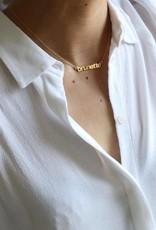 Lisbeth BRUNETTE or BABE necklace