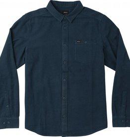 RVCA Public Works Longsleeve Flannel Shirt.