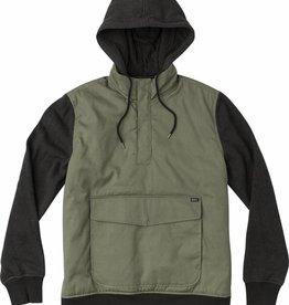 RVCA Grip It Puffer Jacket, Olive