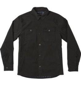 RVCA Utility Shirt Jacket, Ash Grey