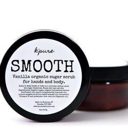 K'PURE SMOOTH Vanilla sugar scrub, 8oz