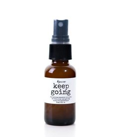 K'PURE KEEP GOING essential oil mists, 1oz