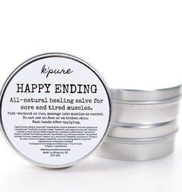 K'PURE HAPPY ENDING healing salve, 0.5oz