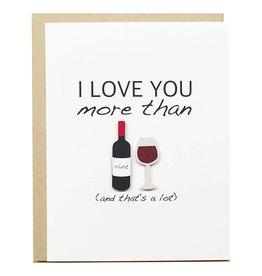 PEPPER POP paper Wine Card